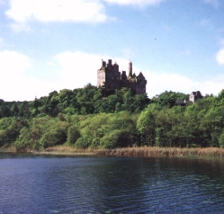 Dromore Lake and Castle in the Parish of Kildimo